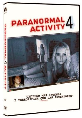Concurso 'Paranormal Activity': Llévate el DVD de 'Paranormal Activity 4'