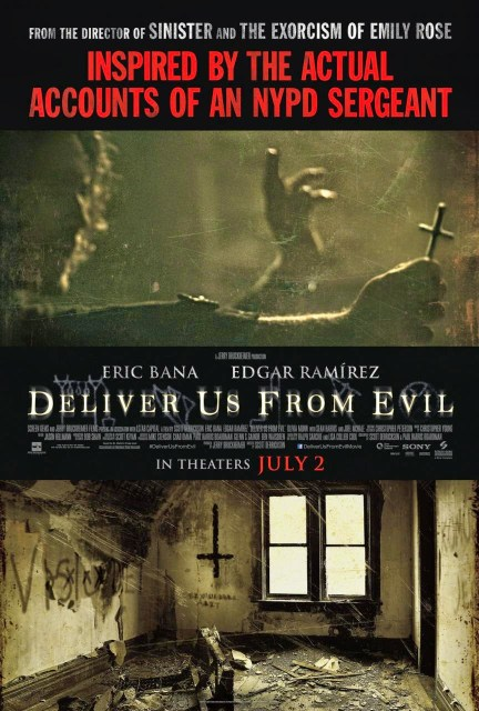 Nuevo póster y vídeo viral de 'Deliver us from evil'