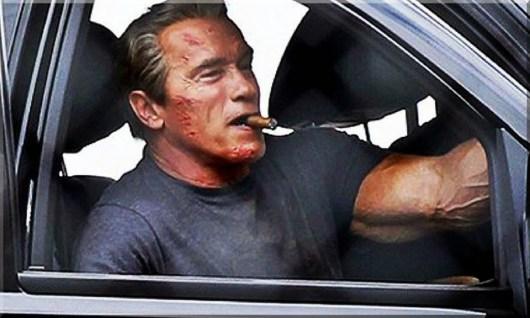Nuevas imágenes de Schwarzenegger en el rodaje de 'Terminator: Genesis'
