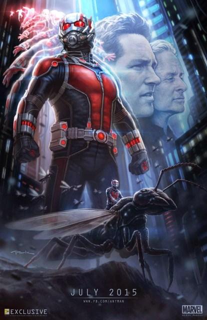 Marvel revela póster conceptual de 'Ant-Man' exclusivo del Comic-Con de San Diego
