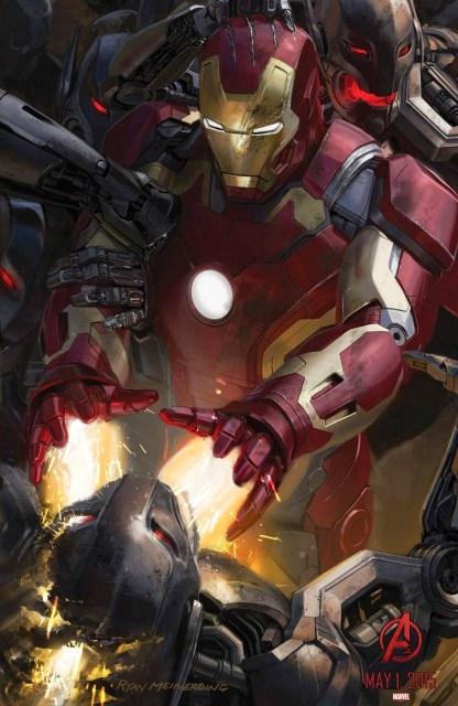 Pósters conceptuales de 'Avengers: Age of Ultron' revelados en Comic-Con de San Diego