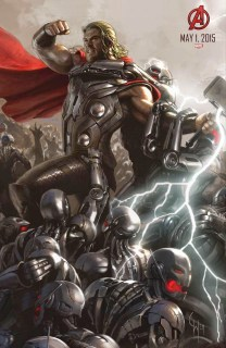 Thor y Hulk completan el primer póster oficial de 'Avengers: Age of Ultron'