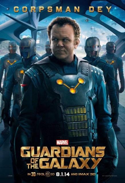 Nuevos pósters de 'Guardianes de la galaxia' centrados en Yondu, Nova Corpsman Dey y Nova Prime