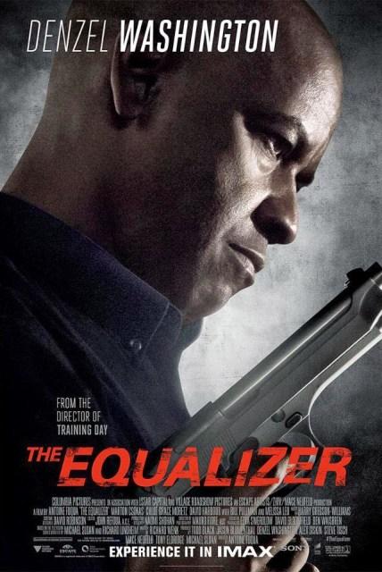 Denzel Washington en el nuevo póster IMAX de 'The Equalizer: El protector'
