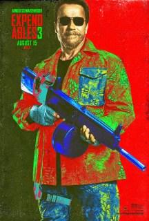 Nuevos pósters individuales de 'Los mercenarios 3'