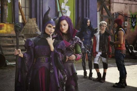 Primera imagen de Kristin Chenoweth como Maléfica en 'Descendants'