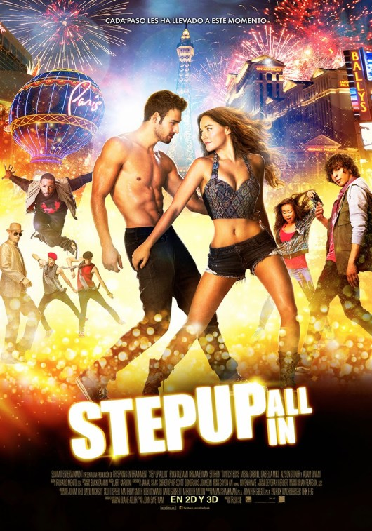 Póster y tráiler español de 'Step Up All in'