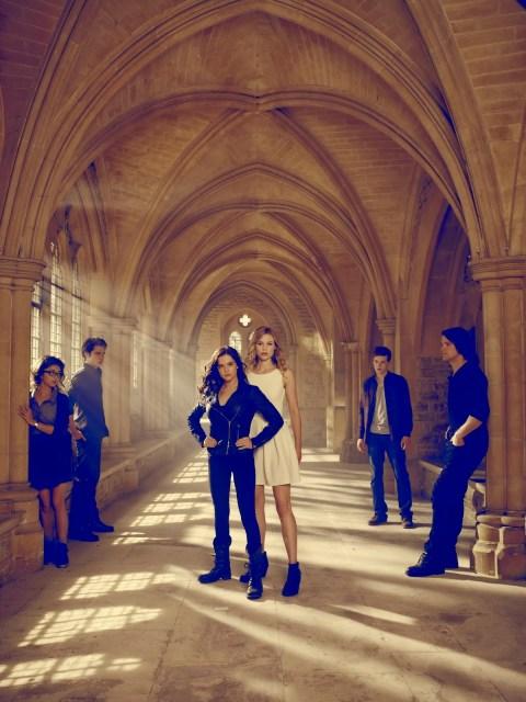 Remesa de posados de 'Vampire Academy', con Zoey Deutch, Lucy Fry, Olga Kurylenko y Gabriel Byrne