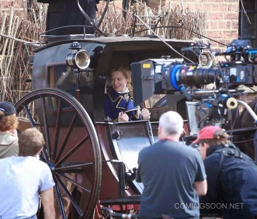 Primeras imágenes del rodaje de 'Alice in Wonderland: Through the looking glass'