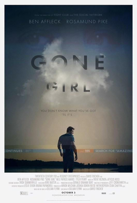 Nuevo póster internacional de 'Perdida (Gone girl)' de David Fincher