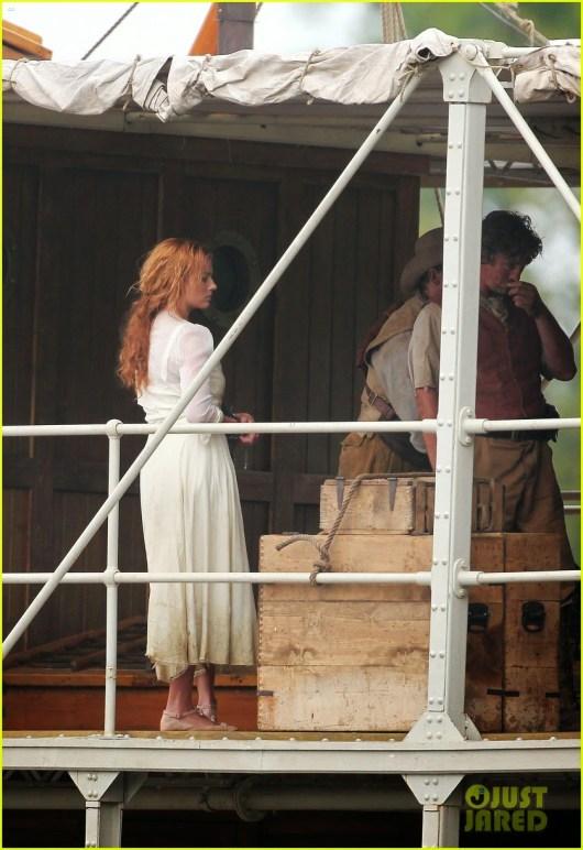 Primeras fotos de Margot Robbie y Christoph Waltz en el set de 'Tarzán'