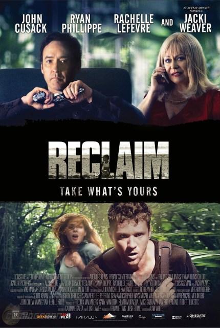 Tráiler y póster de la nueva película de suspense 'Reclaim'