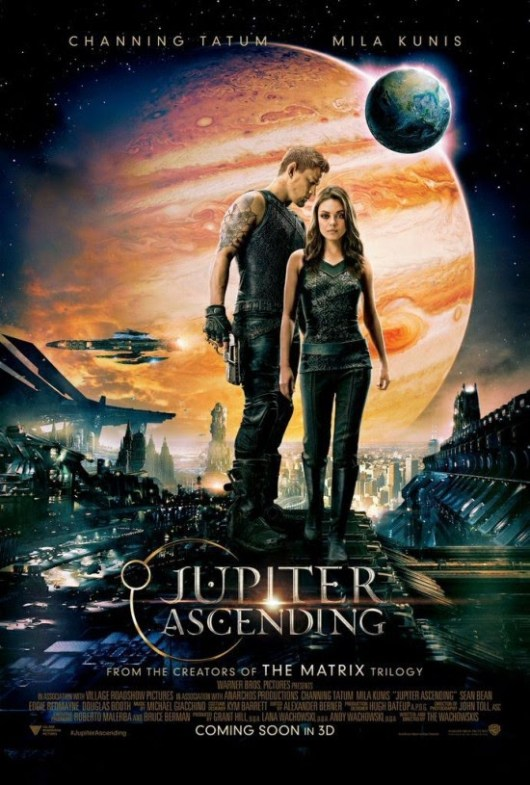 Nuevo póster y tráiler de 'Jupiter Ascending', con Channing Tatum y Mila Kunis