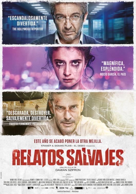 'Relatos Salvajes elegida para representar a Argentina en los Oscar y los Goya