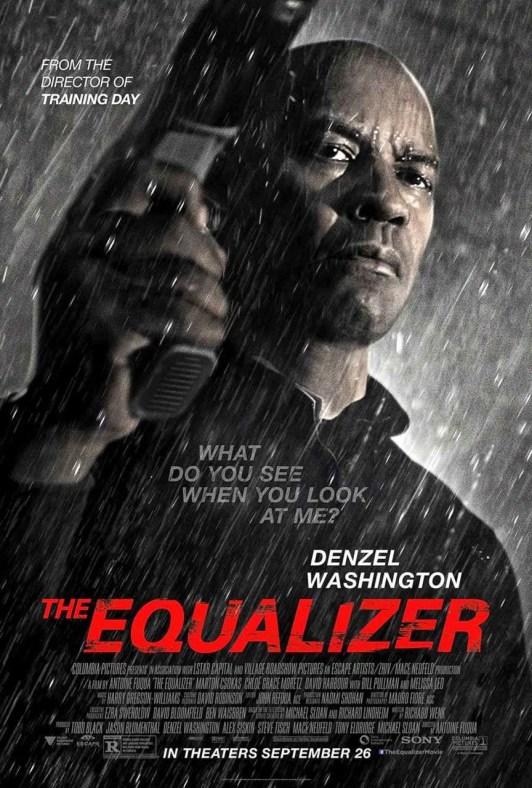 Nuevo póster y tráiler de 'The Equalizer: El protector', con el nuevo single de Eminem y Sia