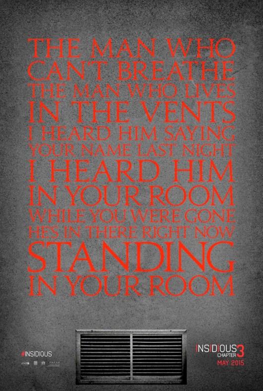 Desvelado el teaser póster de 'Insidious: Chapter 3'