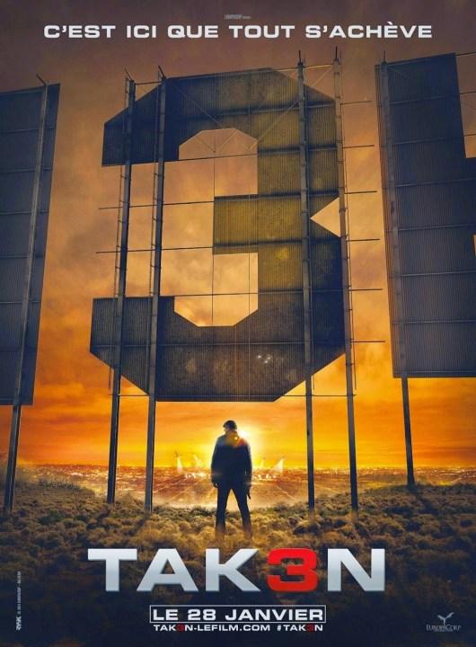 Primer póster 'Taken 3', que se llamará 'Tak3n'