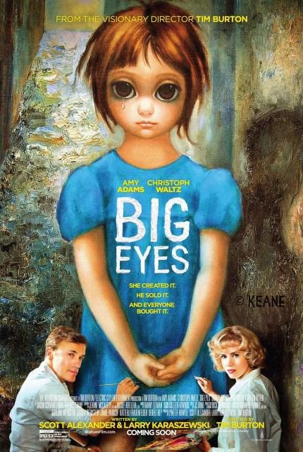 Nuevo póster de 'Big eyes', de Tim Burton
