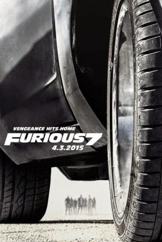 Se desvela un nuevo póster de 'Furious 7'
