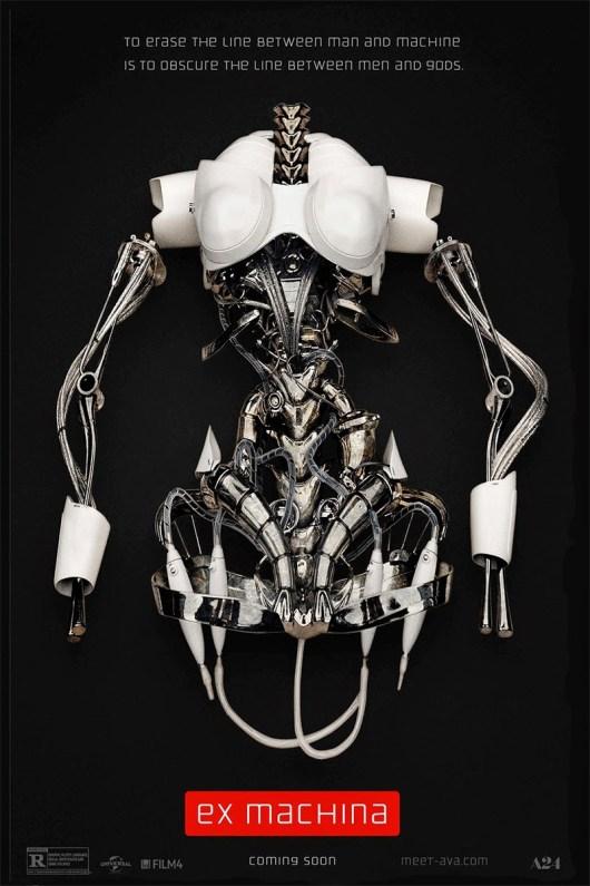 Primeros pósters y tráiler de 'Ex-machina', dirigida por Alex Garland