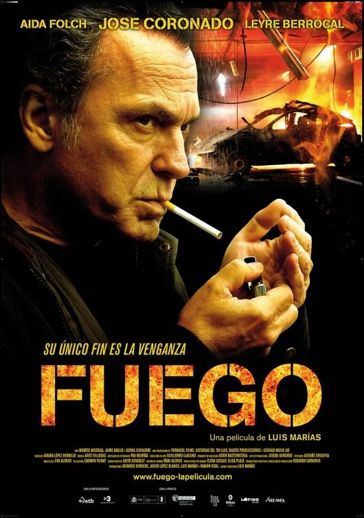 Póster y tráiler de 'Fuego', con Jose Coronado