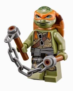 Concurso 'Ninja Turtles': Tenemos llaveros LEGO de Michelangelo para vosotros