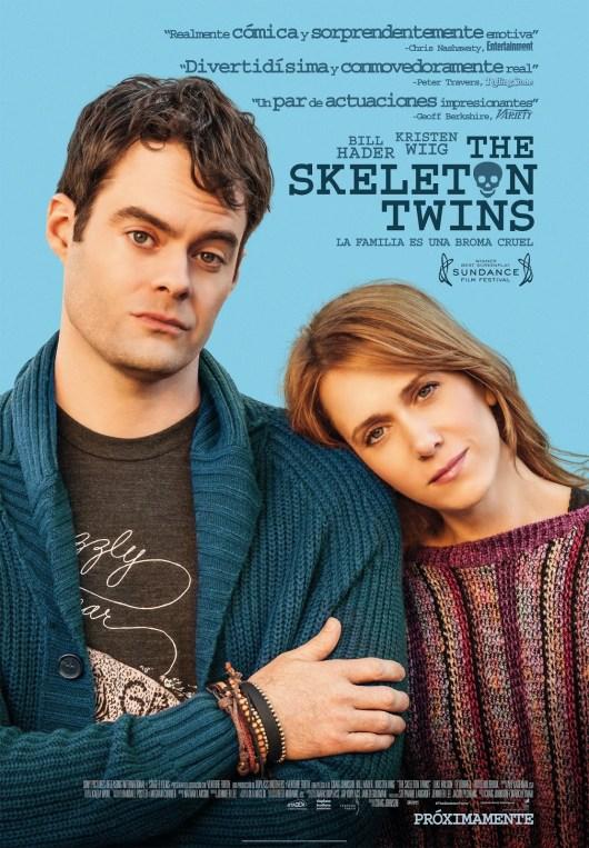 Póster y tráiler español de 'The skeleton twins', con Bill Hader, Kristen Wiig y Luke Wilson