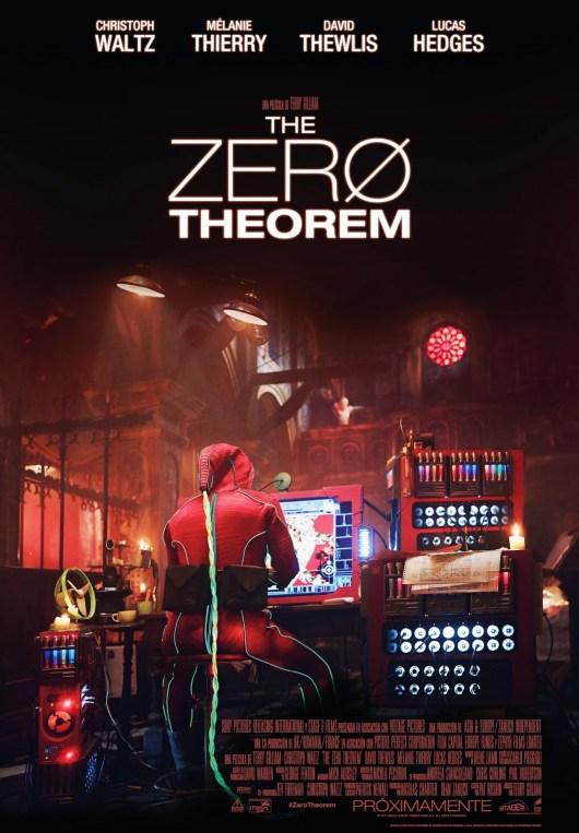 Póster final español de 'The Zero Theorem', lo último de Terry Gilliam