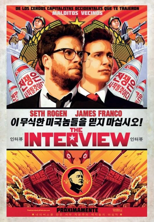 Teaser póster español y nuevas imágenes de 'The Interview', con Seth Rogen y James Franco
