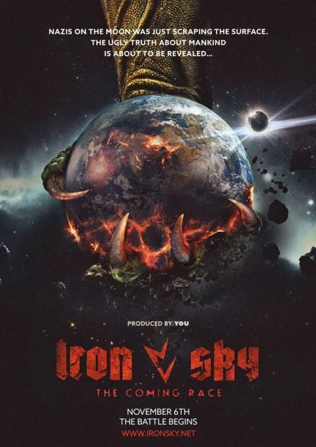 Primer póster y nuevo tráiler de adelanto de 'Iron sky: The coming race'