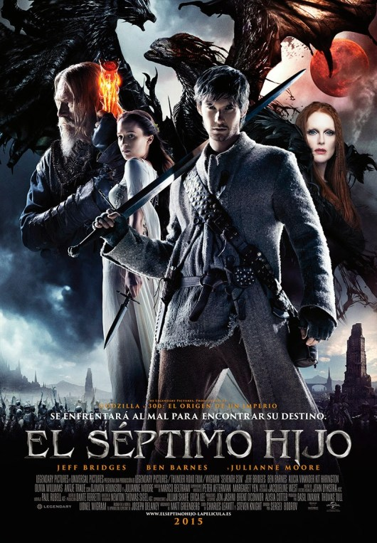 Tráiler y póster español de 'El séptimo hijo', con Jeff Bridges y Ben Barnes