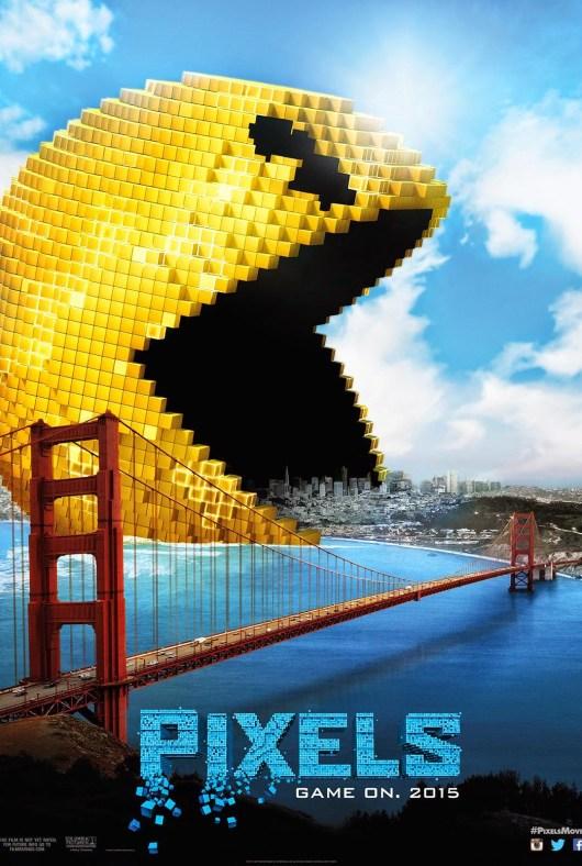 Los videojuegos atacan la tierra en los 5 pósters de 'Pixels'