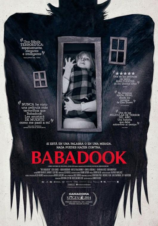 Póster definitivo de la sobrecogedora historia de terror psicológico 'Babadook'