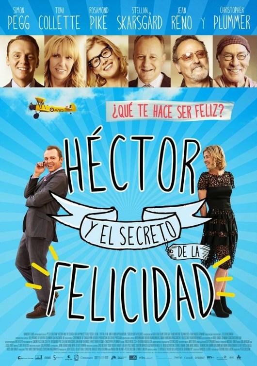 Póster y tráiler español de 'Héctor y el secreto de la felicidad'