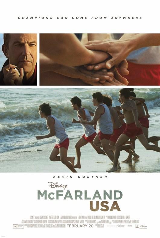 Póster, primeras imágenes y nuevo tráiler de 'McFarland, USA', con Kevin Costner