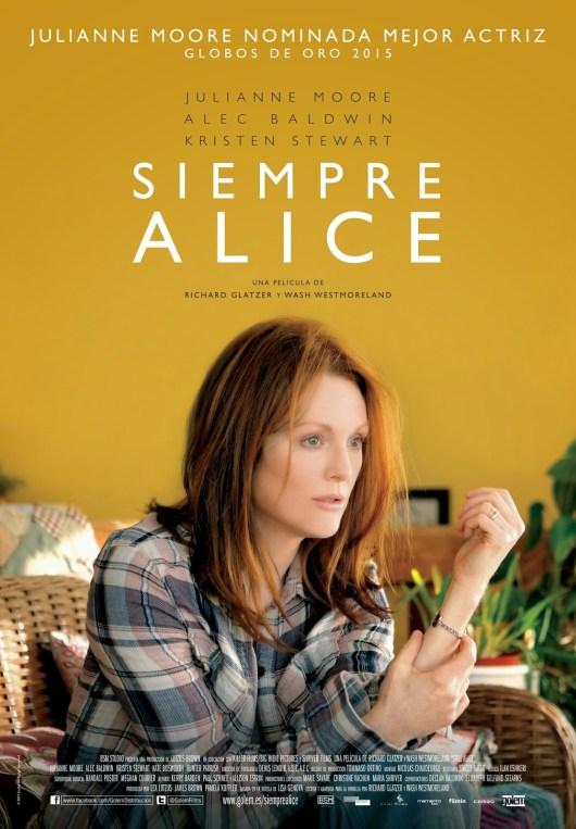 Póster y tráiler español de 'Siempre Alice' con Julianne Moore y Kristen Stewart