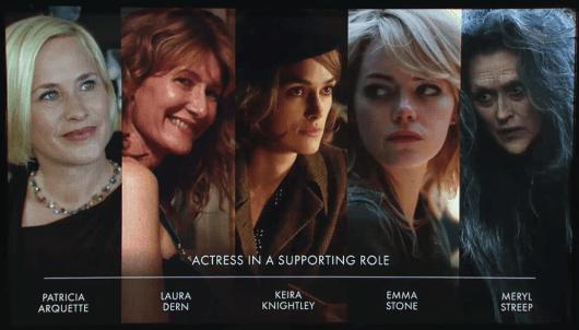 Lista completa de nominaciones al Óscar 2014