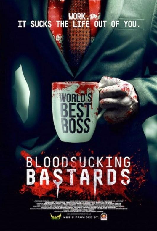 Póster y tráiler de la comedia 'Bloodsucking bastards'