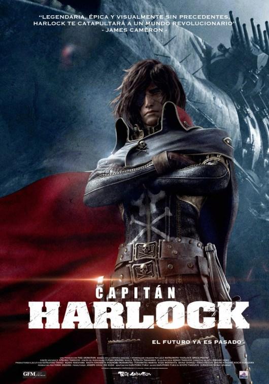 Concurso 'Capitán Harlock. El futuro ya es pasado': Tenemos entradas dobles para preestrenos en Madrid y Barcelona