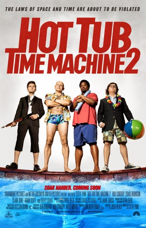 Nuevos pósters de 'Hot tub time machine 2', secuela de 'Jacuzzi al pasado'