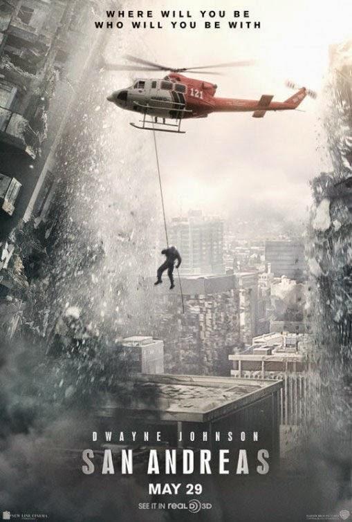 Primer póster de 'San Andreas' con Dwayne Johnson