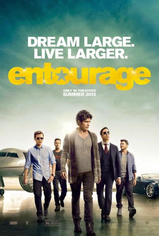 Póster de la película 'Entourage', continuación de la serie 'El séquito'
