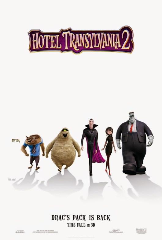 Primer tráiler español y póster internacional de 'Hotel Transilvania 2'