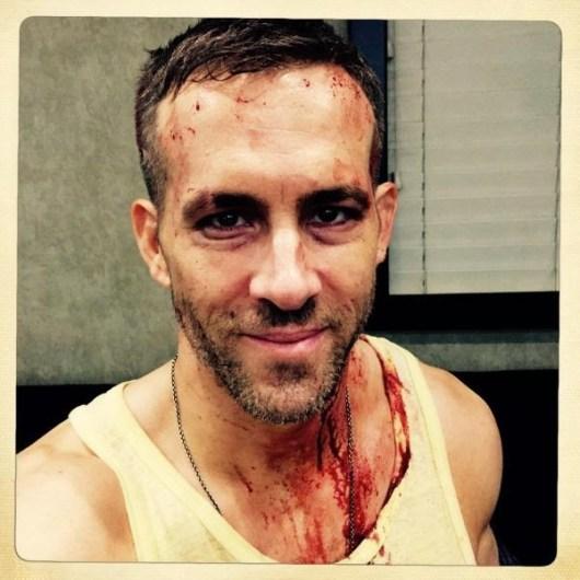 Nueva y sangrienta imagen del rodaje de 'Masacre' ('Deadpool')