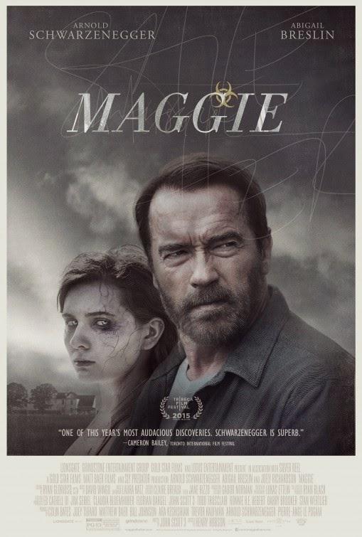 Póster de la película de zombies 'Maggie' con Arnold Schwarzenegger