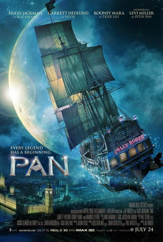 Warner Bros. retrasa el estreno de 'Pan' hasta octubre