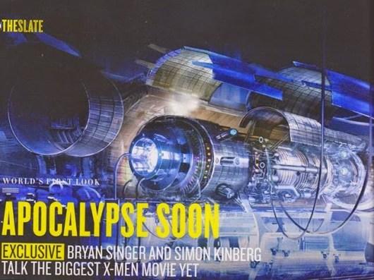Nuevas imágenes de arte conceptual de 'X-men: Apocalypse'