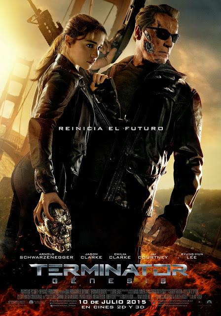 Póster oficial español de 'Terminator: Génesis'