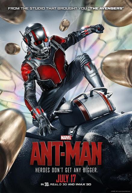 El superhéroe frente a las balas en el nuevo póster de 'Ant-Man'