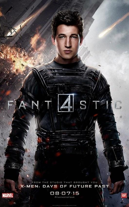 Pósters individuales, banner e imágenes de  'Cuatro Fantásticos'
